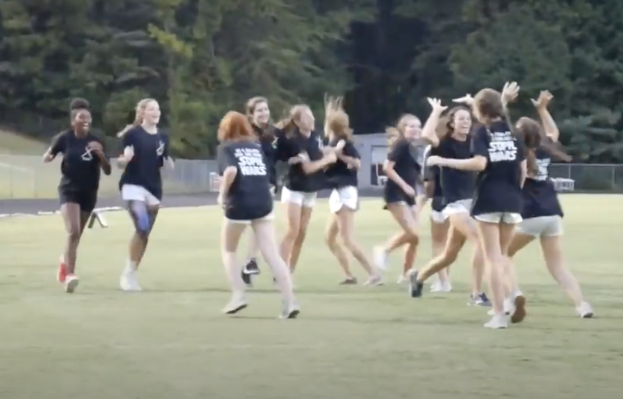 Powder Puff game from 2019