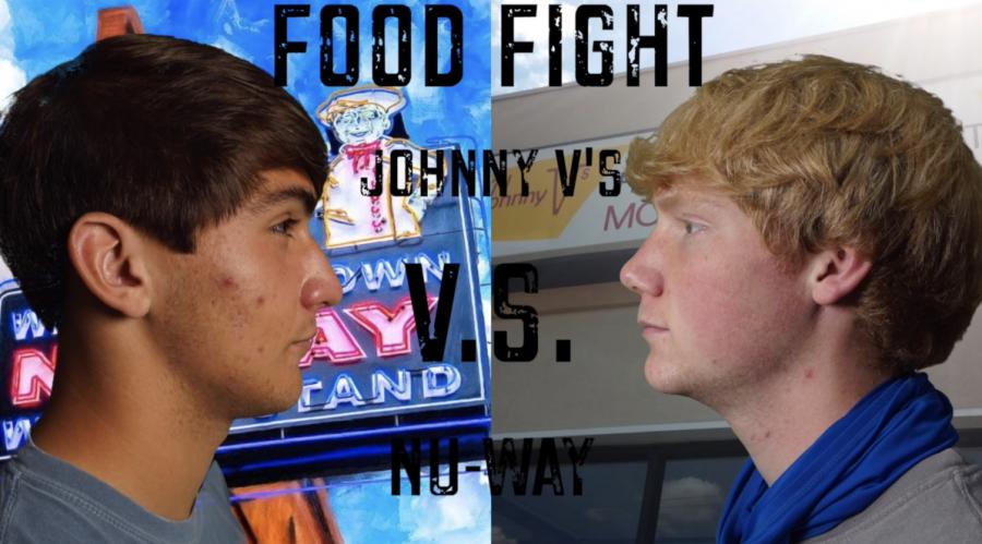 FOOD FIGHT: Johnny V
