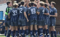 Boys soccer team gets fired up