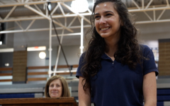 Valedictorian Sabina Ajjan says she is confident her hard work paid off.
