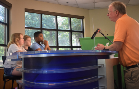 July Camp Eagle Junior Journalist Broadcast